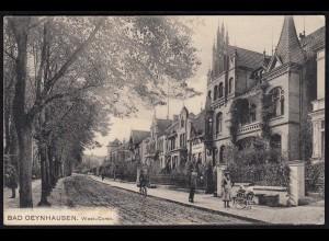 AK Bad Oeynhausen Westcorso 1909 nach Baarn (17045