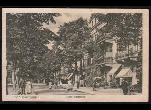 AK Bad Oeynhausen Herforfer Strasse 1922 (17068