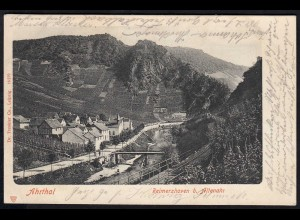 AK Reimerzhoven bei Altenahr Ahrthal Gesamtübersicht 1902 nach Simmern (17145