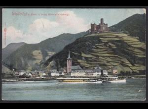 AK Wellmich bei Sankt Goarshausen am Rhein (17173