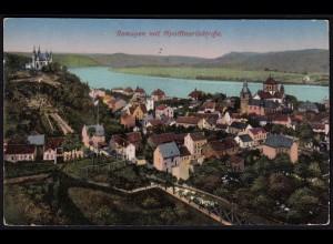 AK Remagen 1916 Gesamtansicht Abs. Reserve Lazarett (17188