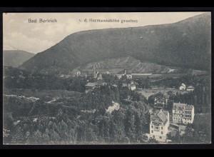 AK Bad Bertrich Eifel 1908 Obenansicht nach Münster (17194