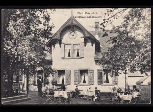AK Forsthaus Bonsbeuren Bad Bertrich 1907 (17203