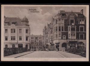 AK Solingen Birkenstrasse von der Brücke aus 1925 (17222