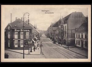 AK Solingen Kaiserstrasse Zur Börse Schenkwirtschaft (17225