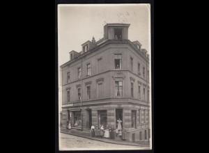 AK seltenes Privatfoto Barmen 1913 nach Mühlhausen (17230