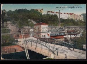 AK Barmen Haspeler Brücke Schwebebahn 1928 (17233