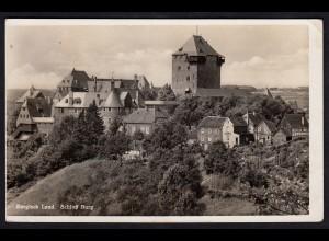 AK Schloss Burg Bergisches Land 1936 (17234