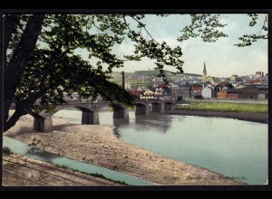 AK Velbert 1913 Gesamtansicht Brücke nach Wetter (17276