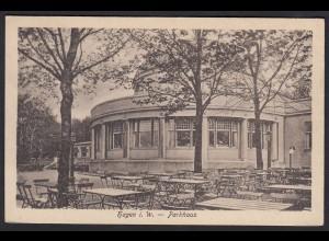 AK Hagen Parkhaus nach Münster 1919 (17279