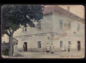 AK Olbersdorf Gasthof zum goldenen Hirschen (b080