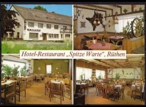 AK Rüthen Hotel Restaurant Spitze Warte (b081
