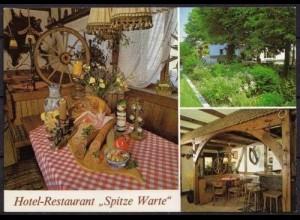 AK Rüthen Hotel Restaurant Spitze Warte (b082