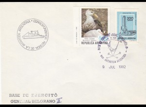 Antarktis Antarctica 1982 Argentinien Argentina GENERAL BELGRANO II (9943