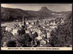 AK Lilienstein Bad Schandau Sächsische Schweiz (b069