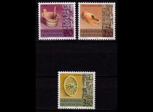 Liechtenstein Altes Handwerk 1998 Mi. 1180-82 ** (c107