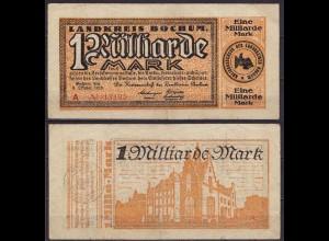 Westfalen - Bochum Landkreis 1- Milliarde Mark 1923 (cb237