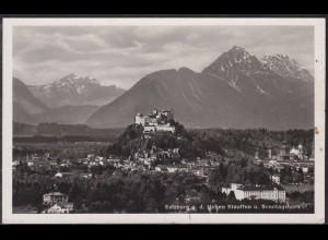 AK Österreich Salzburg Hohen Stauffen Gesamtansicht (12625