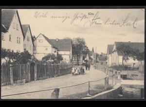 AK Elm (Schlüchtern) Dorfstraße Feldpost (17392