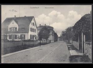AK Lauterbach Bahnhofstraße seltnes Straßenansicht (17394