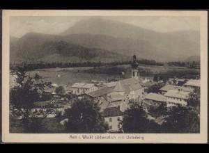 AK Reit im Winkel südwestliche Ansicht mit Unterberg (12658
