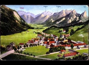 AK Ettal bei Garmisch Patenkirchen Gesamtansicht (5828