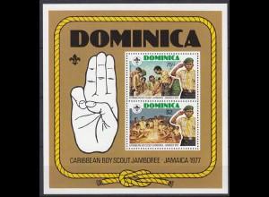Dominikanische Republik Pfadfinder SCOUTS Block 1977** (5271