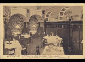 AK Essen-Ruhr Hotel Stadt Cafe Weinrestaurant 1913 (4565