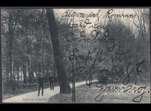 AK Düsseldorf Partie im Hofgarten 1907 (4570