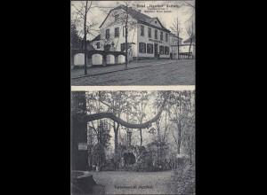AK Hotel Jägerhof Essen Kettwig Gartenansicht 1910 (4573