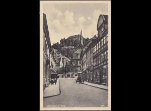 AK Blankenburg Harz Strassenansicht (4583