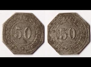 Gardelegen 50 Pfennig o.J. Eisen Funck 151.8 Notgeld / Kriegsgeld (r1079