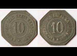 Gardelegen 10 Pf. o.J Z Notgeld/Kriegsgeld Funck 151.4 (R1065
