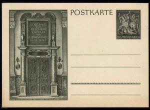 Deutsche Goldschmiede-Kunst Ganzsache P296 - 1943 ungebraucht (11362