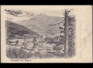 AK Kernhof mit Gippel Austria Österreich (3655