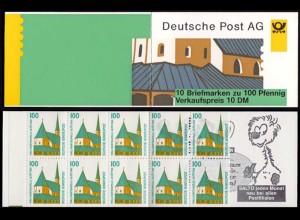 Bund MH 32 Germany Booklet Sehenswürdigkeiten ** MNH (8315