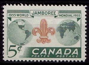 Kanada Kanada Welthalbkugeln Pfadfinder ** MNH (8576