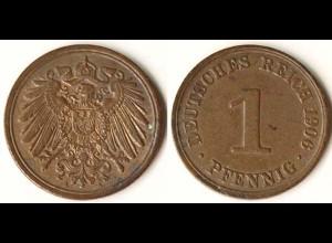 1 Pfennig Kaiserreich 1906 A Jäger 10 ansehen (9394