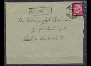 Posthilfstelle/Landpost Großborkow/Lauenburg Pommern (9423