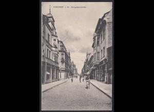 AK Höcht a.M Königsteinerstraße Feldpost 1915 (17435