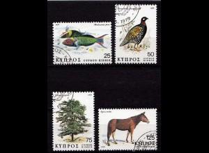 Zypern 1975 Vögel Birds Animals gestempelt (9767