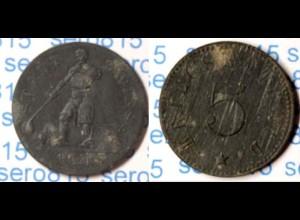 Zwiesel 5 Pfennig Notgeld 1917 Z Funck 632.17 (n115