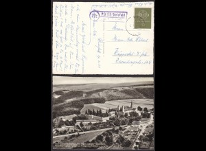 AK Salvatorianerkolleg Steinfeld Post Kall Land Luftbild Posthilfstelle/Landpost