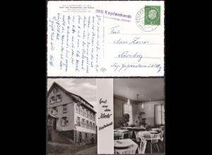 AK Kapfenhardt über Neuenbürg Posthilfstelle/Landpost 1960 (12187