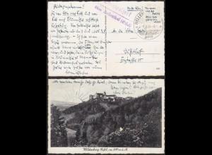 AK Wildenburg Oberwulfert ü Hallenthal Eifel 1938 Posthilfstelle/Landpost