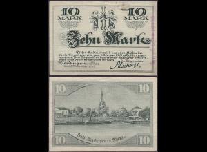 Rheinland - Uerdingen 10 Mark Notgeld 1918 (12027