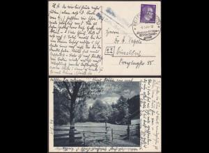 AK Oberwolfert ü Hallenthal Eifel 1944 Posthilfstelle/Landpost (12207