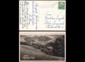 AK Elsafftal Günterscheid über Linz Rhein Posthilfstelle/Landpost 1958 (12215