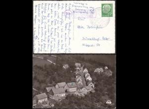 AK Gasthaus Karrpfenhardt ü Neuenbürg Posthilfstelle/Landpost (12192