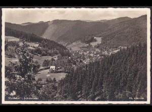 AK Echt Foto Sitzendorf Schwarzatal (12228